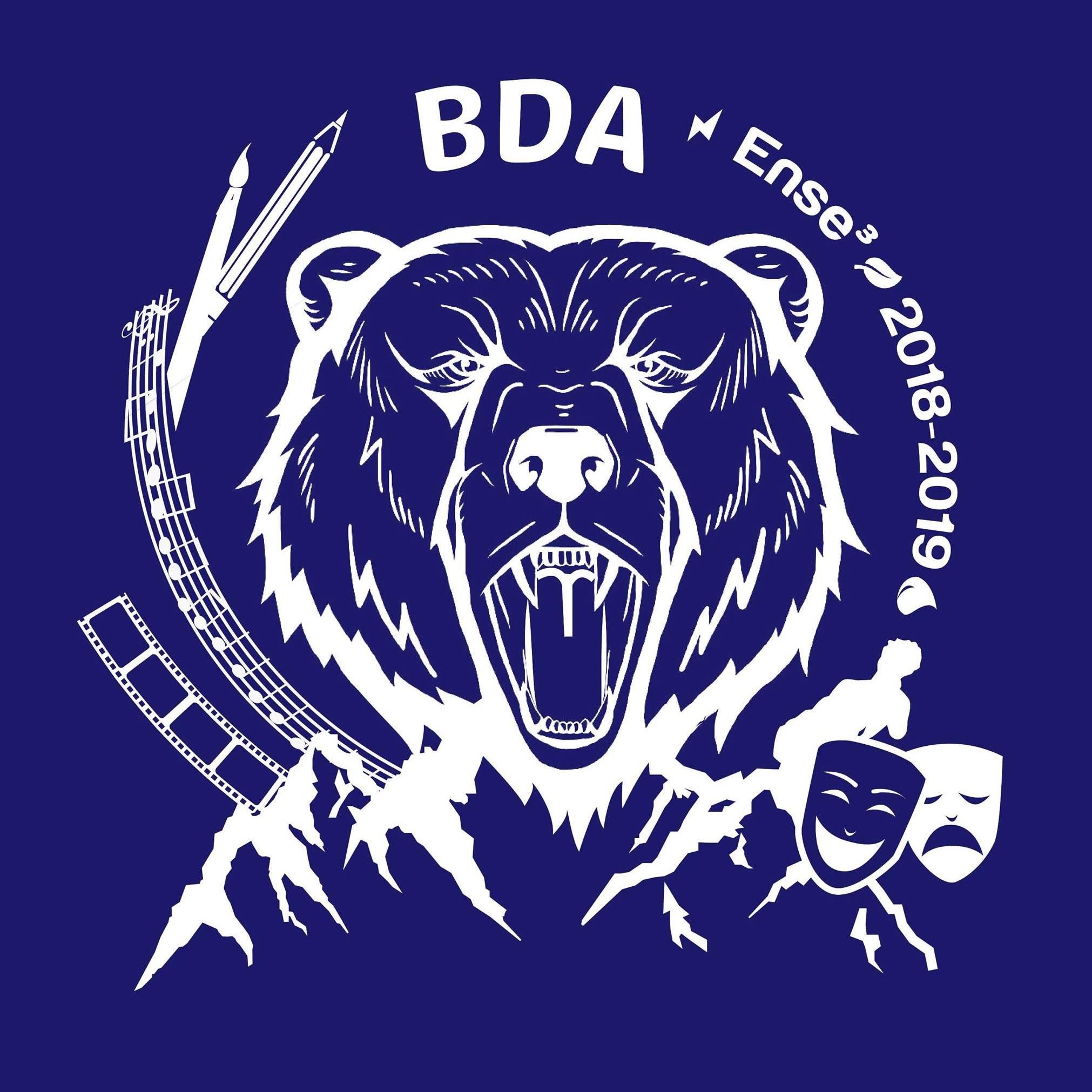 Logo BDA ense3 2018-2019