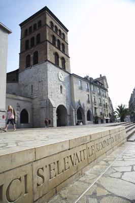 Grenoble cathédrale Notre Dame