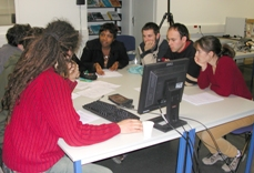 Etudiants en projet collectif