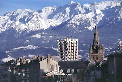 Grenoble image montagne