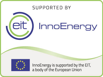 Supported by innoenergy logo