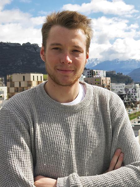 Portrait de Victor Lapel, étudiant en alternance